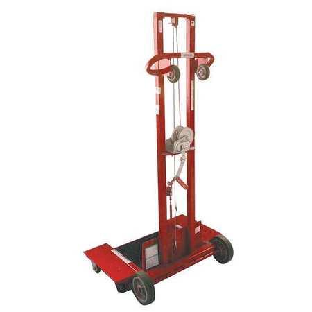Loading Platform (DAYTON 26Y452 Pltfrm Lift, 500 lb. Cap.69-1/2  In)