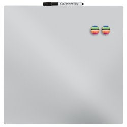 "Quartet Magnetic Dry-Erase Board Tile, 14"" x 14\ by ACCO BRANDS"