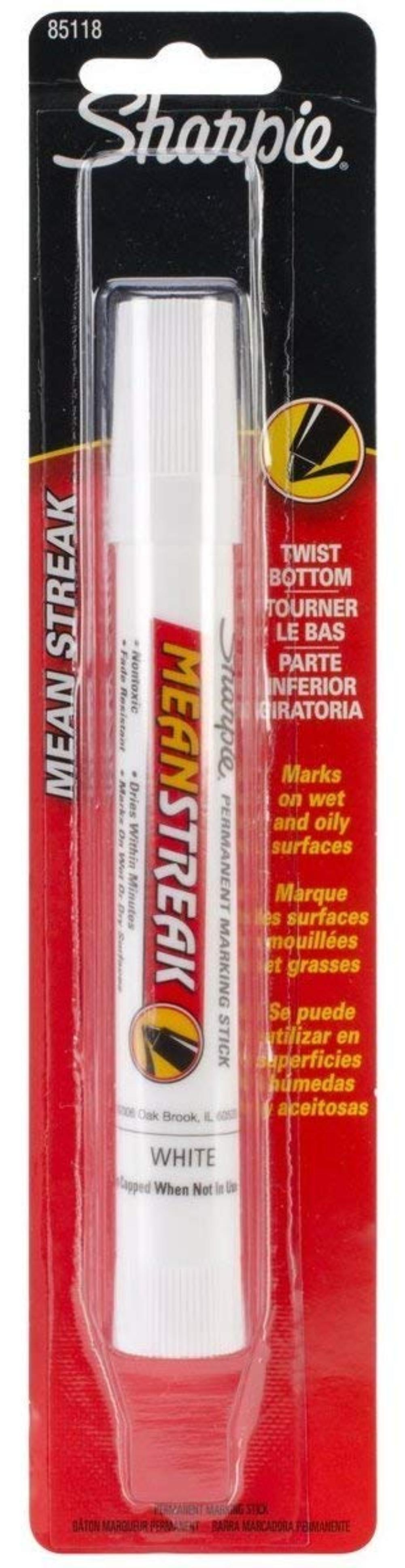 Sharpie 85118-PP MeanStreak Permanent Marker; pack of 1