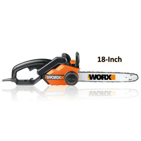 Worx wg3041 15 amp 18 in electric chainsaw walmart electric chainsaw greentooth
