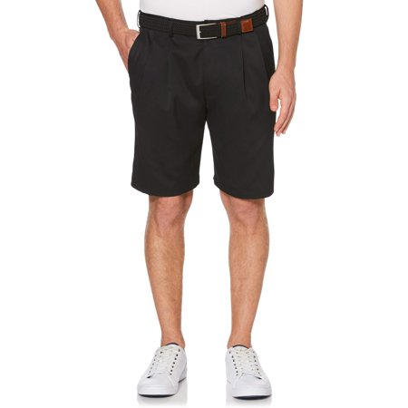 Pleated Microfiber Stretch Short