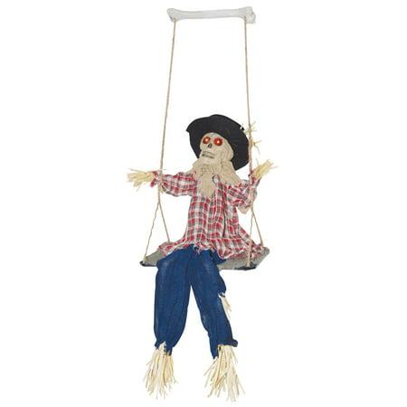 Kicking Scarecrow on Swing - Kick Buttowski Halloween