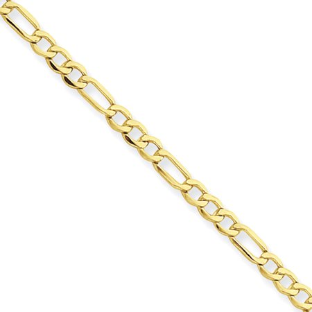 14kt Yellow Gold 2.50mm Figaro Chain Necklace - Babylon Jewelry