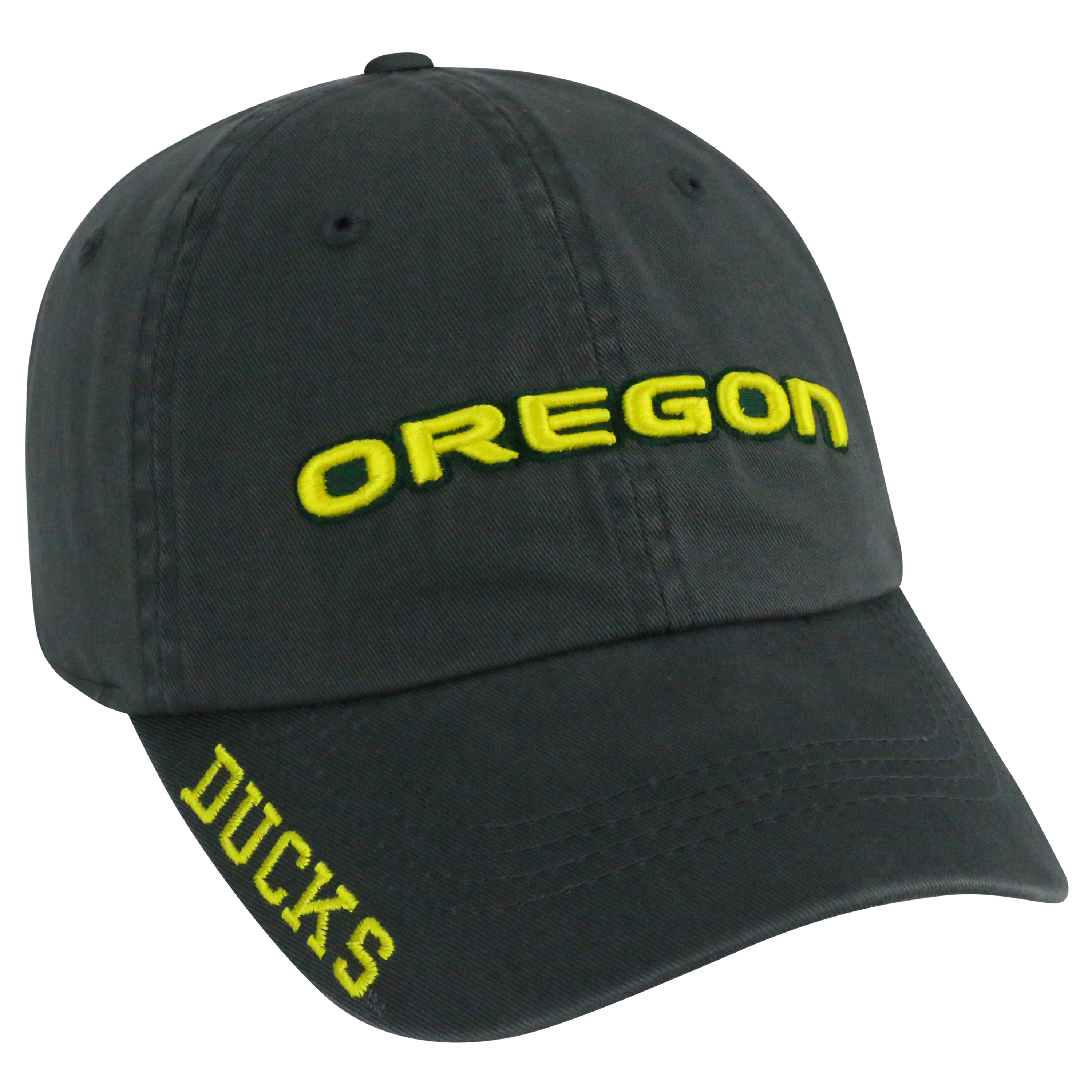 Oregon Ducks Charcoal Washed