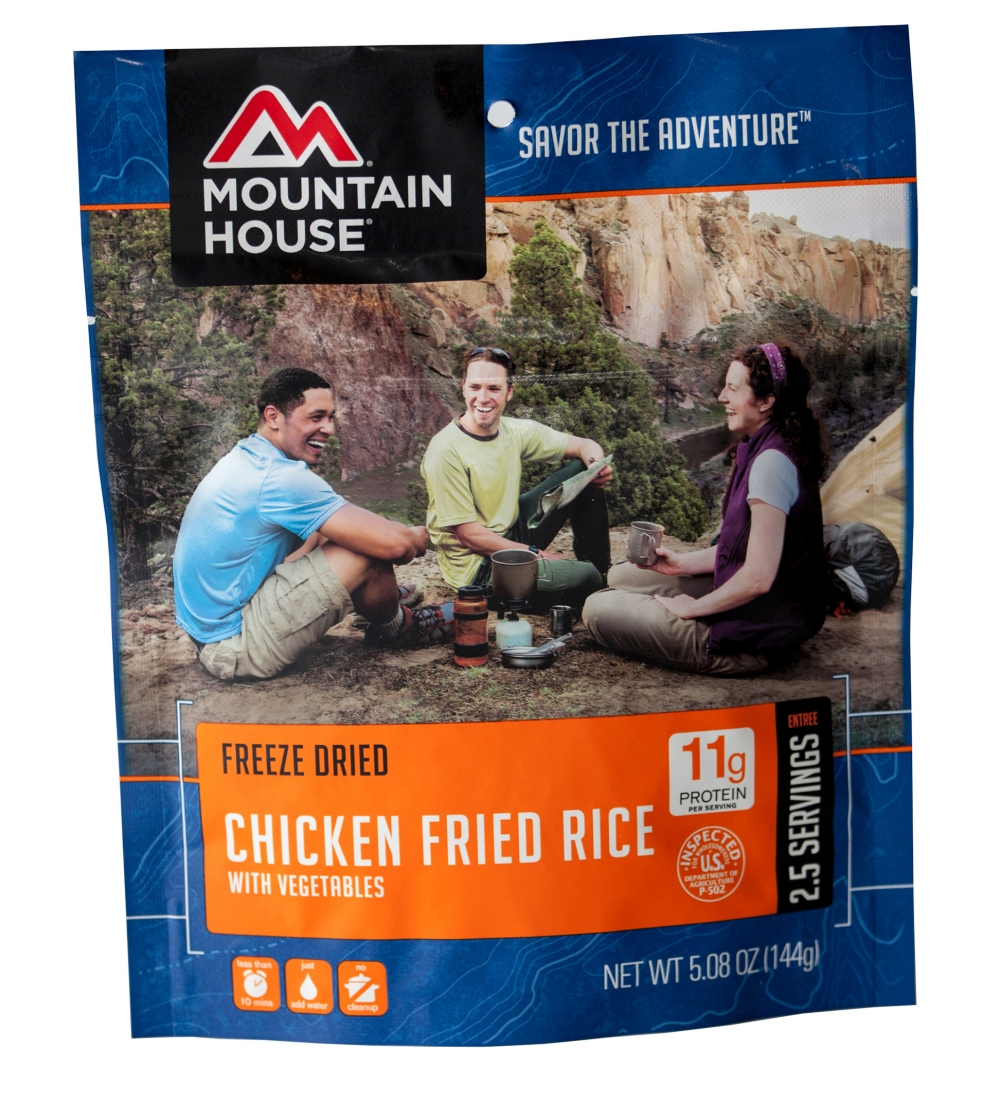 Mountain House (6 Pack) Chicken Fried Rice Main Entree Pouch by Mountain House
