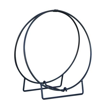 24 Inch Round Hoop Log Rack in (24 Log Hoop)
