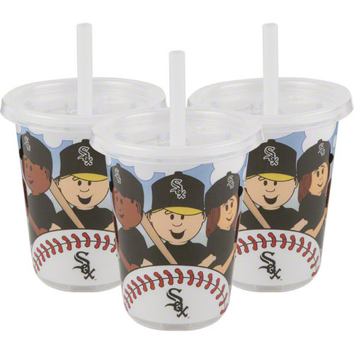 MLB - Chicago White Sox To-Go Sippy Cup 3-Pack
