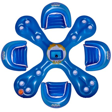 Aviva Sports Aviva by RAVE Sports Ahh-Qua Bar Pool Float - Blue