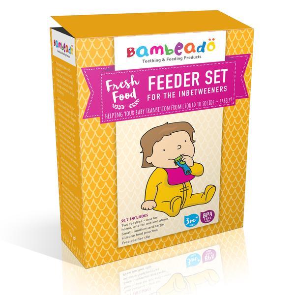 Bambeado Fresh Fruit Feeder Pacifier & Feeder