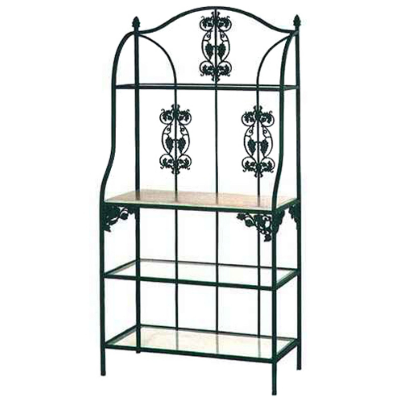 Grace Manufacturing Vineyard Backers Rack with 4 Shelves