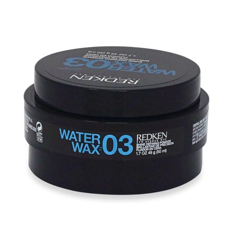 Redken Water Wax 03 Texturize Shine Defining Pomade, 1.7 Oz