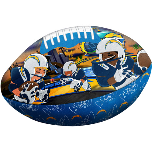 Nfl Rush Football Pillow San Diego Chargers Walmart Com