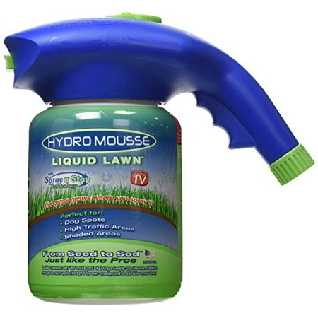 Liquid Lawn Hydroseeding Kit - Covers 100 sq. ft.Eco-friendly Spray n' Stay Tech