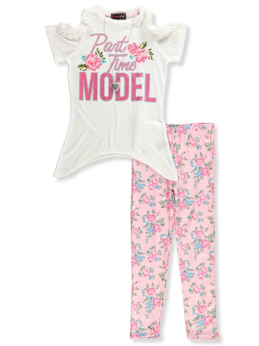 Dream Star Girls 2-Piece Leggings Set Outfit
