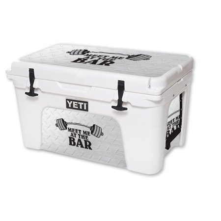 Skin For YETI Tundra 45 qt Cooler – Meet Me At The Bar   MightySkins Protective, Durable, and Unique Vinyl Decal wrap cover   Easy To Apply, Remove, and Change Styles   Made in the USA