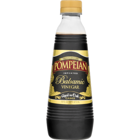 (2 Pack) Pompeian Balsamic Vinegar Aged in Oak 16 Ounce
