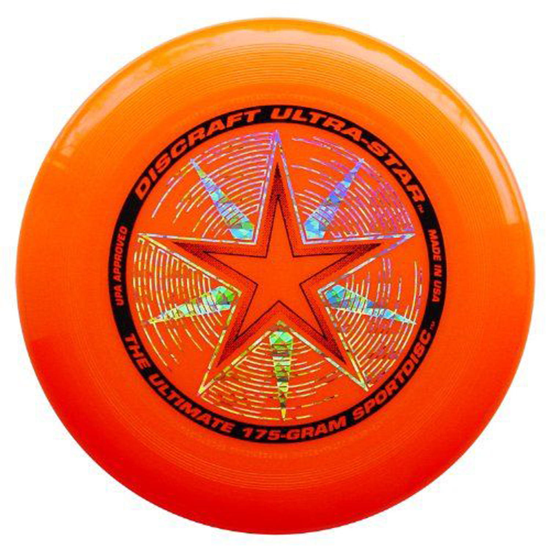 Discraft ULTRA-STAR 175g Ultimate Frisbee Disc - DARK RED
