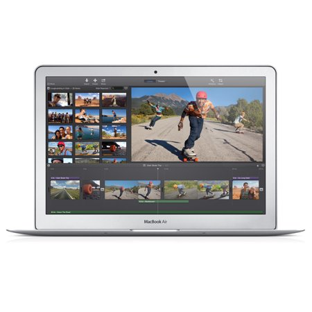 Refurbished Apple A Grade Macbook Air 11 6 1 3Ghz Intel Dual Core I5 Unibody  Mid 2013  Md711ll A 128 Gb Hd 4 Gb Memory 1366 X 768 Display Mac Os X V10 12 Sierra Power Adapter Included