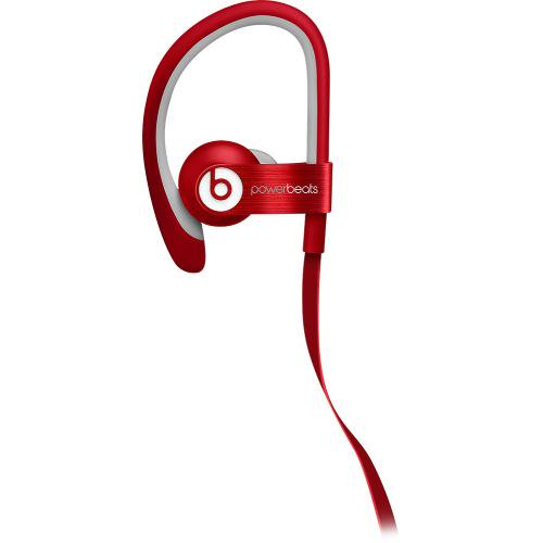 Beats By Dr Dre Powerbeats2 Red Wired In Ear Headphones Mh782am A Walmart Com Walmart Com