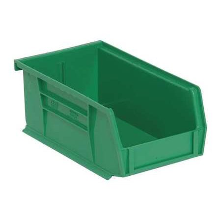 Quantum Storage Systems Green (Quantum Storage Systems QUS220GN 7-3/8L x 4-1/8W Hang and Stack Bin, Green )