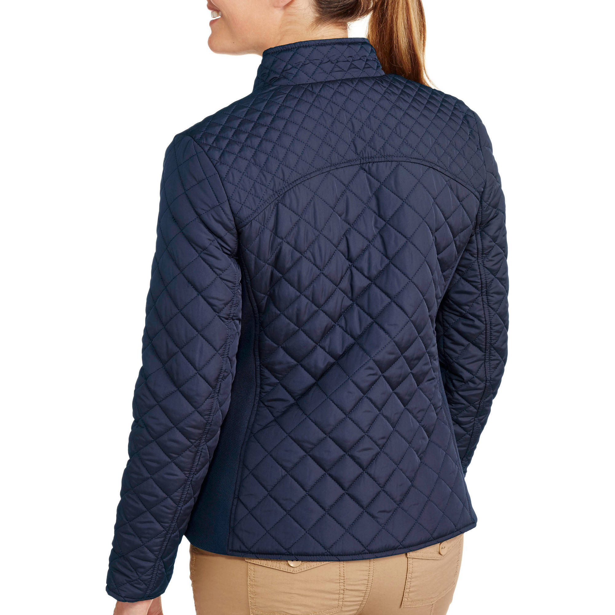 Faded Glory Women&39s Quilted Jacket - Walmart.com