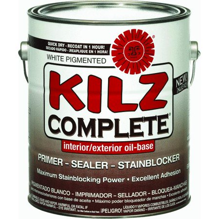 Kilz Complete Oil Base Low Voc Interior Exterior Sealer Stain Blocking Primer