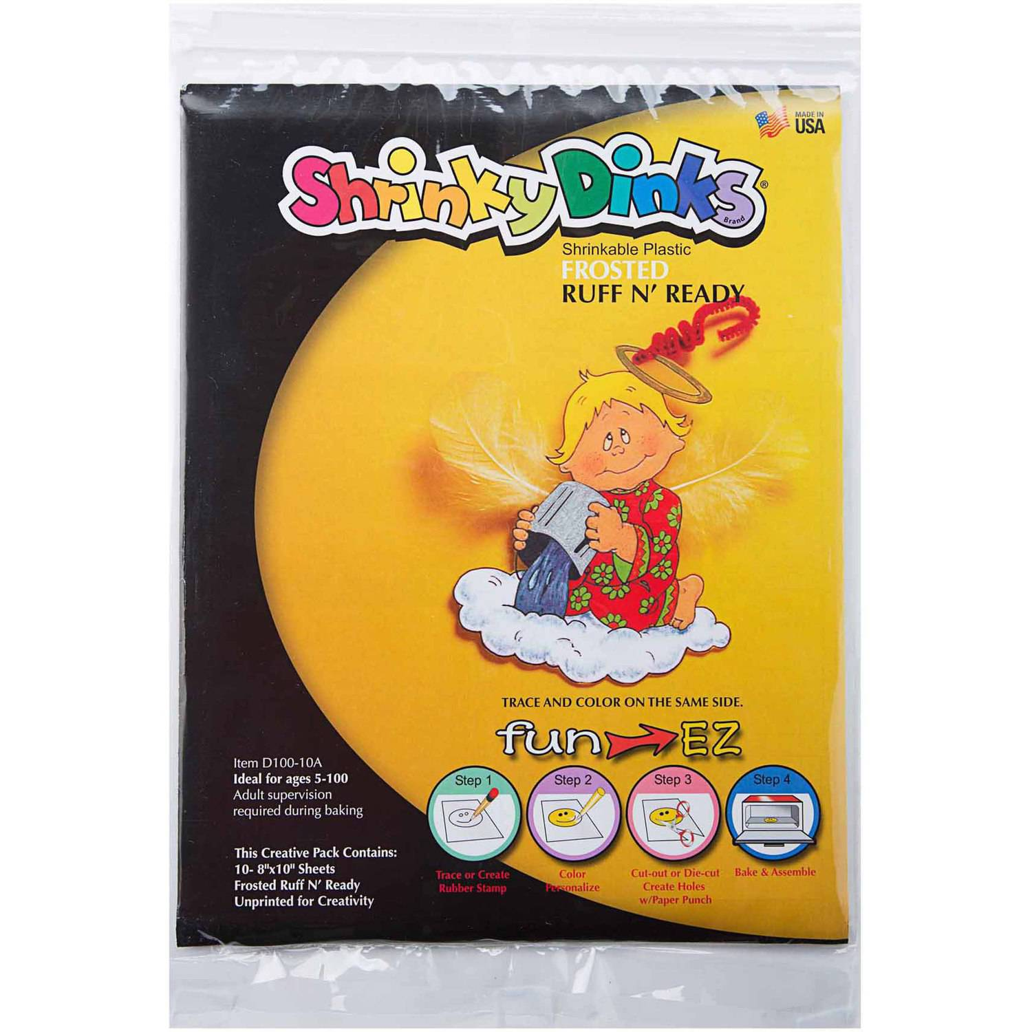 Shrinky Dinks Frosted Ruff n' Ready 20-Sheet Pack