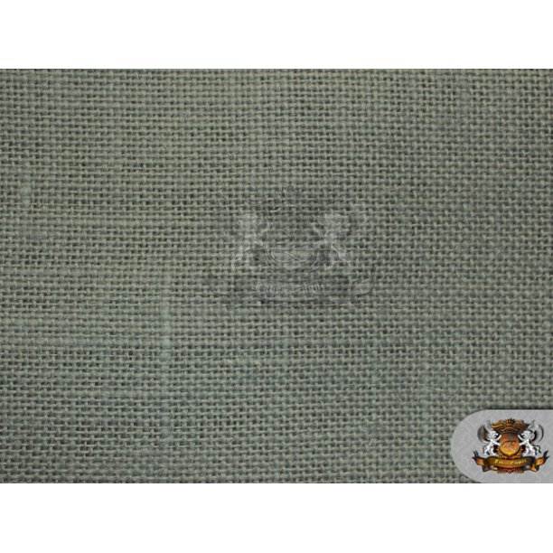 Burlap Jute Grey Fabric 58 Wide Sold By The Yard Walmart Com Walmart Com