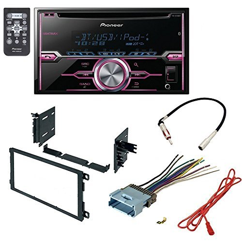 gmc 2003 - 2006 sierra 2500 hd car radio stereo cd player dash install mounting kit harness - package deal
