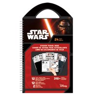 trends international star wars classic - sticker travel book