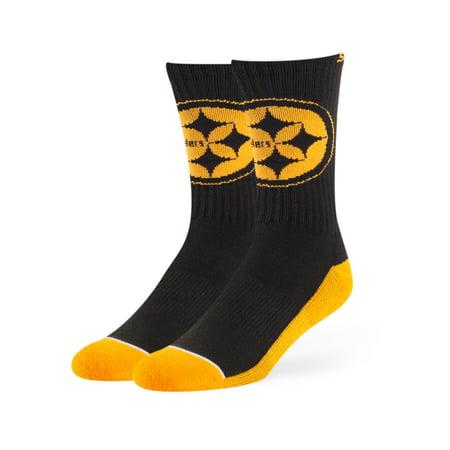 Fan Favorite NFL Anthem Crew Socks, Pittsburgh Steelers