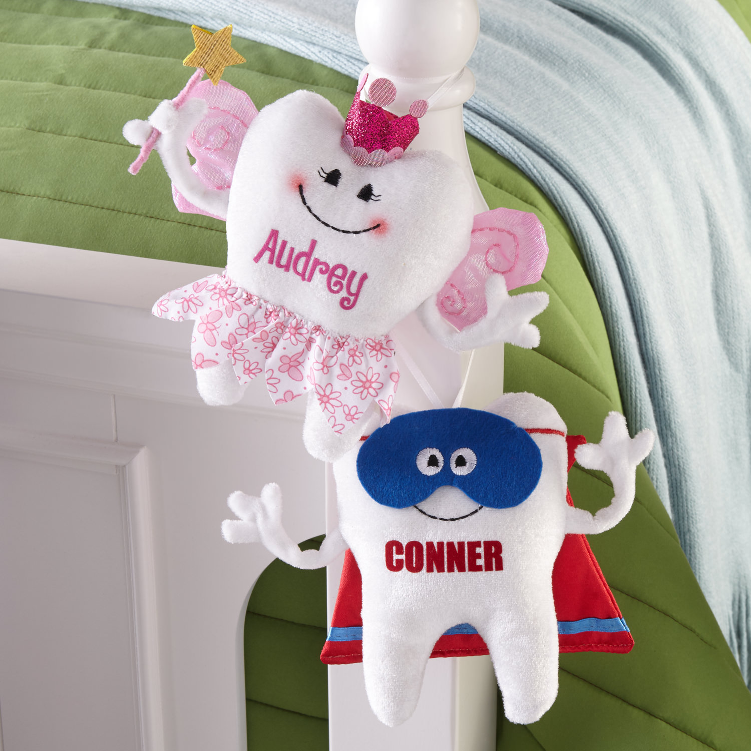 Personalized Tooth Princess Pillow-Available in Princess or Superhero