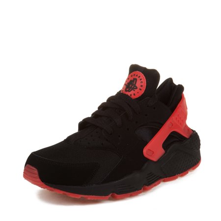 best website 30abc 3a113 Nike Mens Air Huarache QS Black University Red 700878-006 - Walmart.com