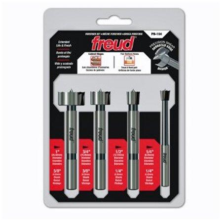Freud Bit Set - Freud PB-104 4-Piece Precision Shear Forstner Bit Set