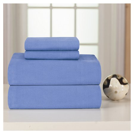 - Charlton Home Medaryville Heavy Weight Flannel Solid Sheet Set