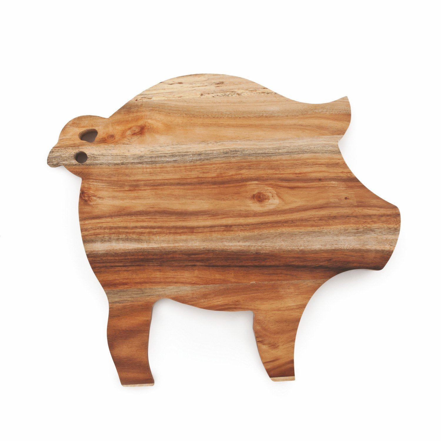 Board Cheese, Acacia Wood Unique Pig Rustic Serving Elegant Cheese Boards