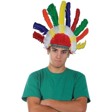 Beistle 1-Pack Decorative Indian Headdress []
