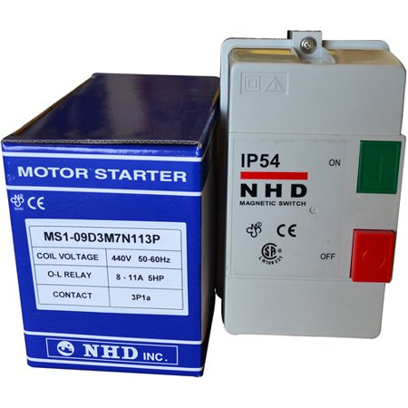 Kufo Seco Magnetic Starter Switch for 5 HP 440V/60 hz/3 ph