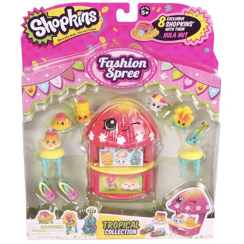 Shopkins Season 4 Fashion Pack Tropical Collection