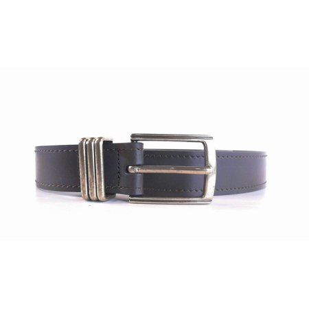 Designer Womens size L Leather Casual Buckle Belt Brown Classic Solid Fashion Accessories Sale Designer Leather Belt Buckle