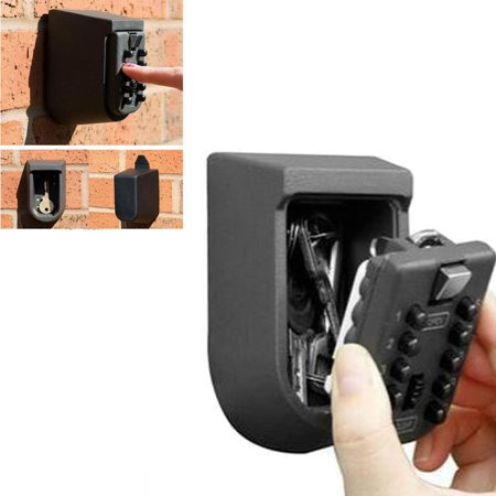 Ktaxon Home Security Wall Mount Outdoor Combination Key Safe Storage Box Lock Car - Door Shaft