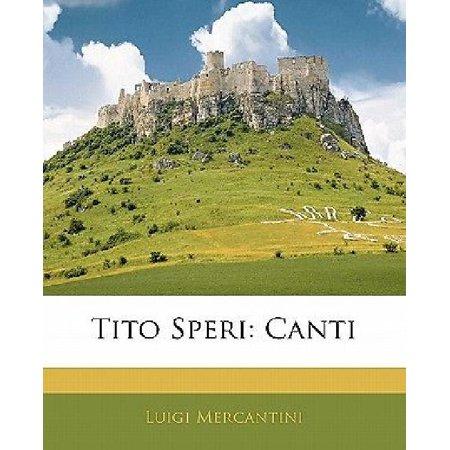 Tito Speri: Canti - image 1 of 1
