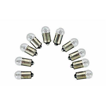 Camco 54710 Instrument Panel Light Bulb  53 Auto Instrument; Package of 10 - image 1 de 1