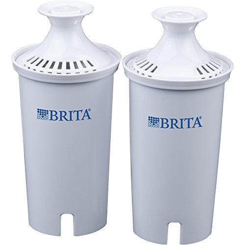 Brita Pitcher, Water Replacement Filters, 2 Count