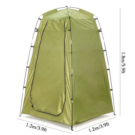 Portable Camping Beach Toilet Shower Tent Dressing ...