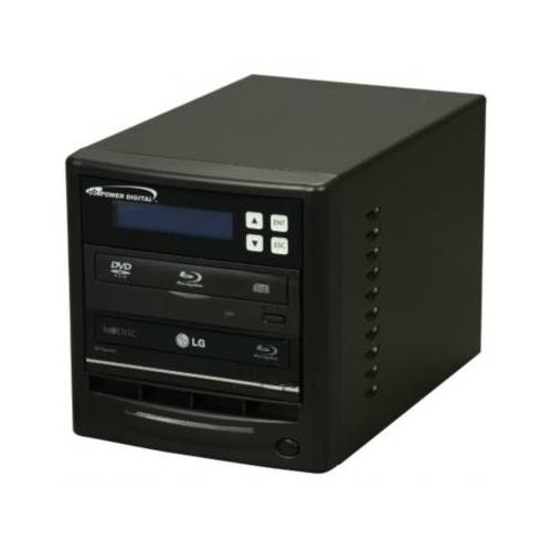 Vinpower Digital ECON-S1T-BD-NR Black Econ Series Econ-S1T-BD-NR 1 to 1 Blue-ray DVD CD Duplicator