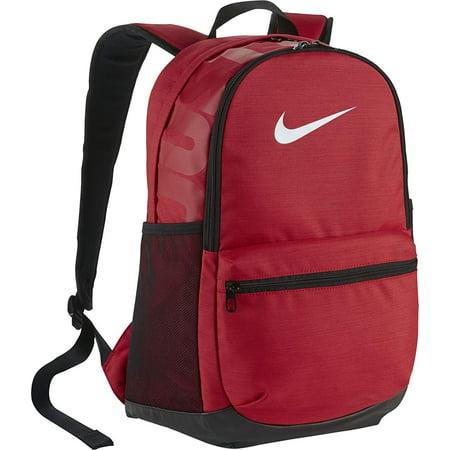 Nike Brasilia Medium Backpack University Red/Black/White Backpack Bags