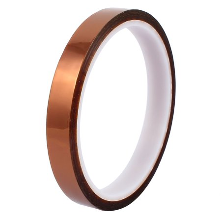 12mm Width 30M Length High Temp Heat Resistant Polyimide Tape