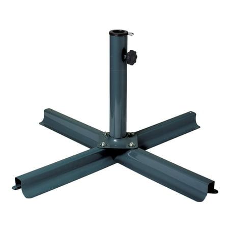 Corliving Dark Grey Patio Umbrella Stand Walmart Com