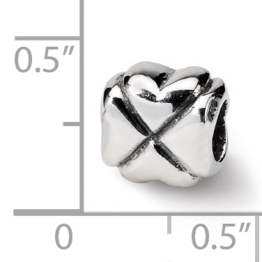 925 Sterling Silver Charm For Bracelet Clover Bead Good Luck Floral Celtic Fine Jewelry Gifts For Women For Her - image 2 de 8